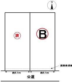 ○愛西市稲葉町米野 全2棟 B棟 新築一戸建て