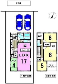 リーブルガーデン海部郡蟹江町緑2丁目 全2棟 2号棟 新築一戸建て