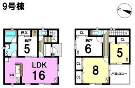 クレイドルガーデン 名古屋市南区天白町第4期 全12棟 9号棟 新築一戸建て