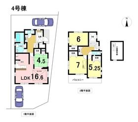 ブルーミングガーデン名古屋市港区茶屋新田5期 全5棟 4号棟 新築一戸建て