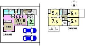 津島市青塚Part3 津島市青塚町6丁目 全1棟 新築一戸建て