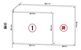 グラファーレ名古屋市港区藤高2丁目 全2棟 1号棟 新築一戸建て