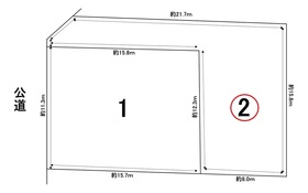 グラファーレ名古屋市港区藤高2丁目 全2棟 2号棟 新築一戸建て