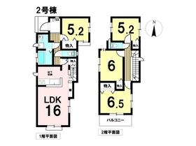 ○あま市甚目寺茶之木田2期 全2棟 2号棟 新築一戸建て