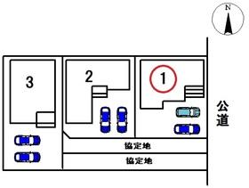 ○リナージュ津島市今市場町20-1期 全3棟 1号棟 新築一戸建て