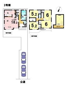 ブルーミングガーデン名古屋市港区錦町 全4棟 2号棟 新築一戸建て