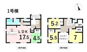 リーブルガーデン名古屋市中川区戸田3丁目 1号棟 全2棟 新築一戸建て