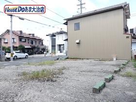 ●あま市七宝町桂山之浦 建築条件なし土地