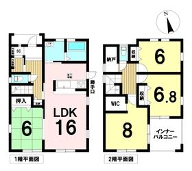 リーブルガーデン愛西市東條町 全3棟 3号棟 新築一戸建て