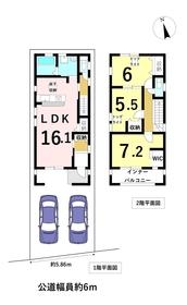 リーブルガーデン 名古屋市中川区万場3丁目 全1棟 新築一戸建て