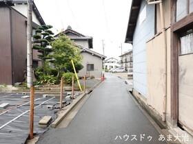 ●あま市木田小兵衛前 建築条件なし土地