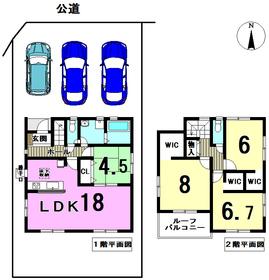 ○リナージュ津島市大慶寺町20-1期 全1棟 新築一戸建て