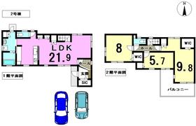 津島市池麸町 全2棟 2号棟 新築一戸建て