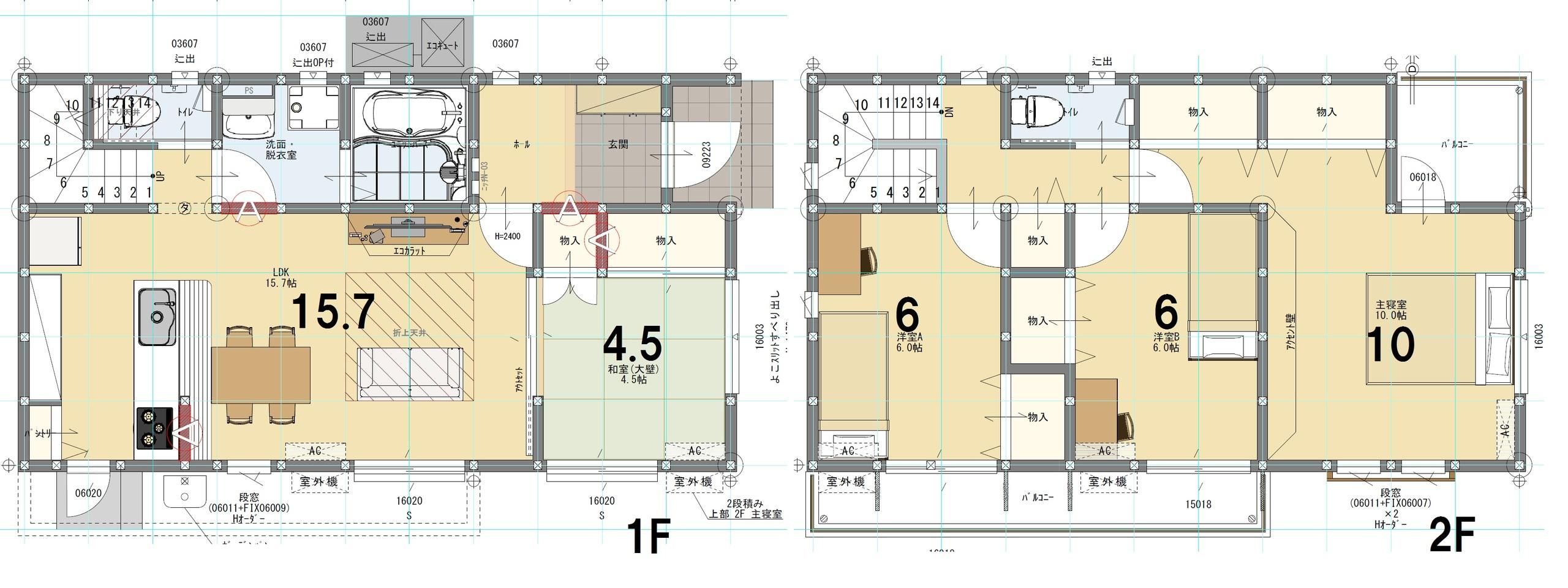 11号棟 4LDK 土地218.35㎡ 建物104.35㎡
