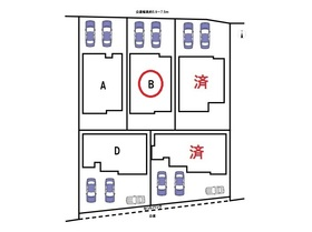 あま市七宝町伊福参之割 全5棟 B号棟 新築一戸建て
