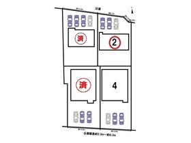 クレイドルガーデン稲沢市儀長第1 全4棟 2号棟 新築一戸建て