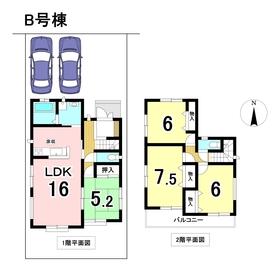 ハートフルタウン 名古屋市南区北内町 全4棟 B号棟 新築一戸建て
