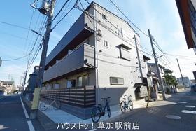 【外観写真】 草加駅より徒歩7分です!