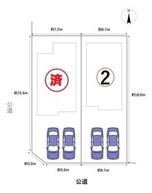 グラファーレ名古屋市港区宝神3丁目第12 全2棟 2号棟 新築一戸建て