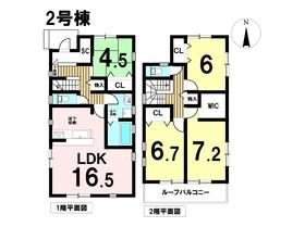 リナージュ津島市青塚町20-1期 全2棟 2号棟 新築一戸建て
