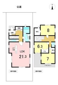 ○名古屋市港区大西1丁目 全3区画 西棟 新築一戸建て