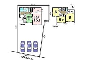 リーブルガーデン稲沢市今村町第6 全4棟 4号棟 新築一戸建て