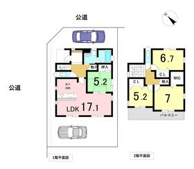 ○ファーストタウン名古屋市港区港楽3丁目 全1棟 新築一戸建て