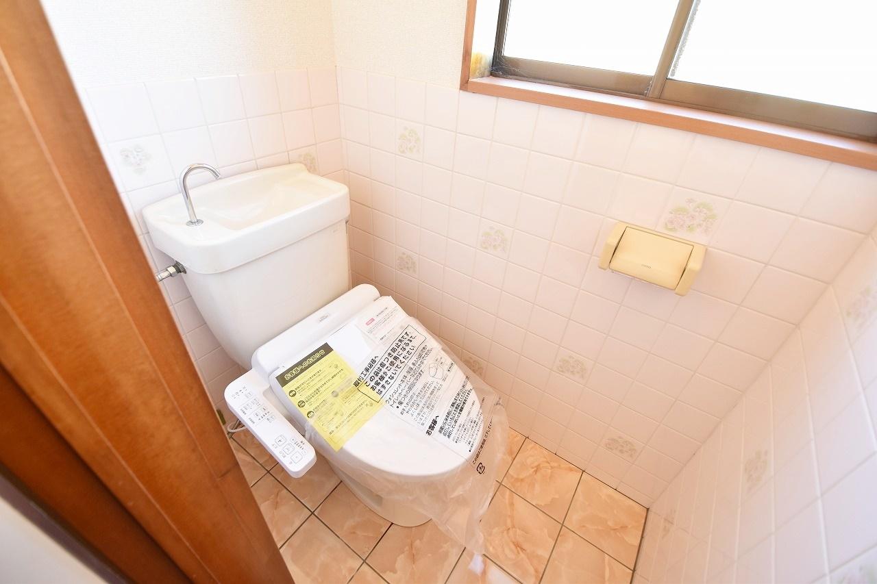 シャワー付きトイレです!