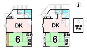 【間取り】 土地面積54.55㎡です!
