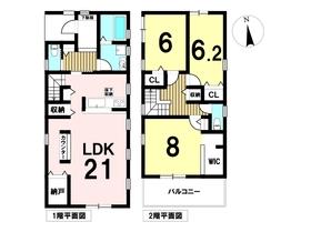 リーブルガーデン弥富市鯏浦町下本田 全2棟 1号棟 新築一戸建て