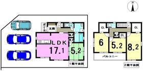 ファーストタウン弥富市鯏浦町西前新田 全1棟 新築一戸建て