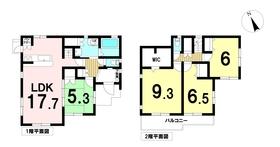 弥富市佐古木 全5棟 4号棟 新築一戸建て