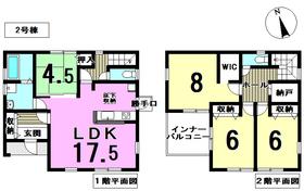 リーブルガーデン愛西市日置町 全2棟 2号棟 新築一戸建て
