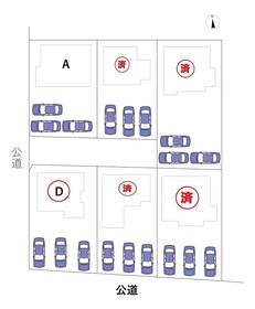 名古屋市港区新茶屋5丁目 全6棟 D号棟 新築一戸建て