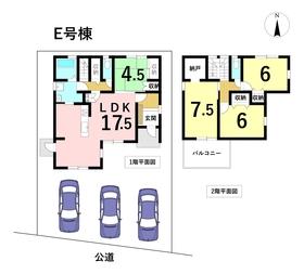 名古屋市港区新茶屋5丁目 全6棟 E号棟 新築一戸建て