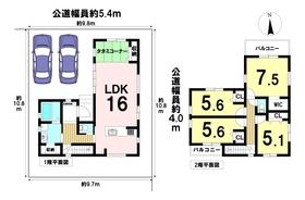 ケイアイフィット名古屋市中川区下之一色町字宮分 全1棟 新築一戸建て