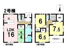 ○クレイドルガーデン名古屋市中川区吉津第7 全2棟 2号棟 新築一戸建