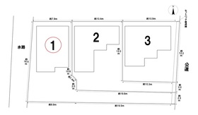 リーブルガーデン名古屋市中川区富田町千音寺第二 全3棟 1号棟 新築一戸建て