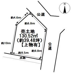 ●津島市中地町1丁目 建築条件なし土地