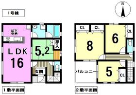 ○クレイドルガーデン津島市橘町第6 全2棟 1号棟 新築一戸建て
