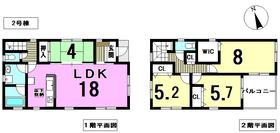 ○クレイドルガーデン津島市橘町第6 全2棟 2号棟 新築一戸建て