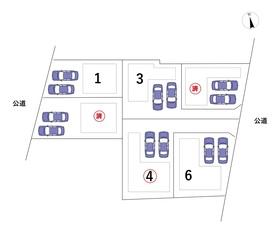 ○名古屋市港区港楽2丁目 全6棟 4号棟 新築一戸建て