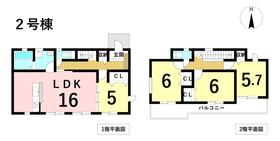 グラファーレ名古屋市港区宝神13期 全5棟 2号棟 新築一戸建て