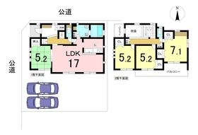 名古屋市中川区戸田ゆたか2丁目 全1棟 新築一戸建て