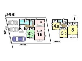 ○あま市中萱津法慶寺 全2棟 2号棟 新築一戸建て