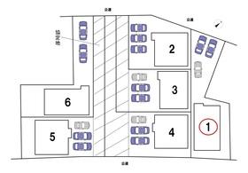 クレイドルガーデン名古屋市中川区本前田町第2 全6棟 1号棟 新築一戸建て