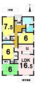 クレイドルガーデン稲沢市梅須賀町 全3棟 2号棟 新築一戸建て