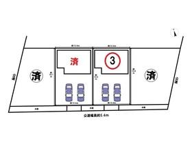 あま市七宝町下田江東本町18期 全4棟 3号棟 新築一戸建て