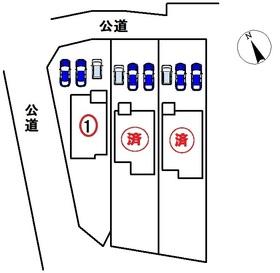 稲沢市片原一色町1期 全3棟 1号棟 新築一戸建て
