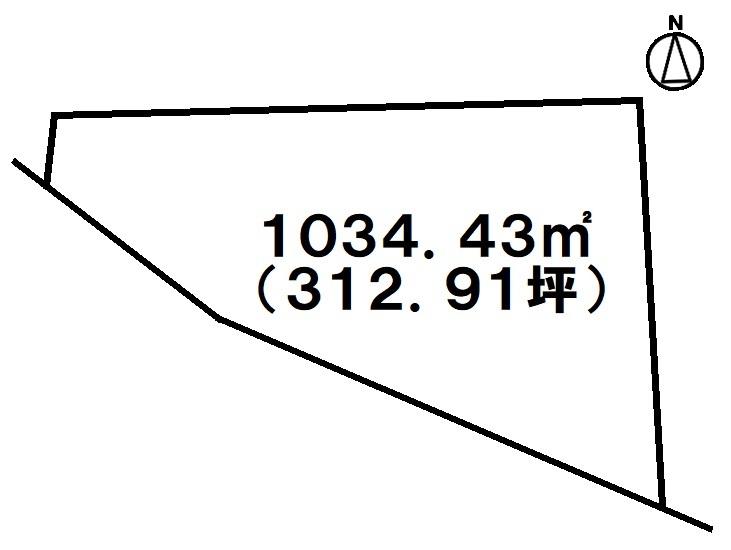 【間取り】 即引き渡し可能!県道321号線沿い!那覇市高良約312坪の土地!アパート・ビルの建設にいかがですか?